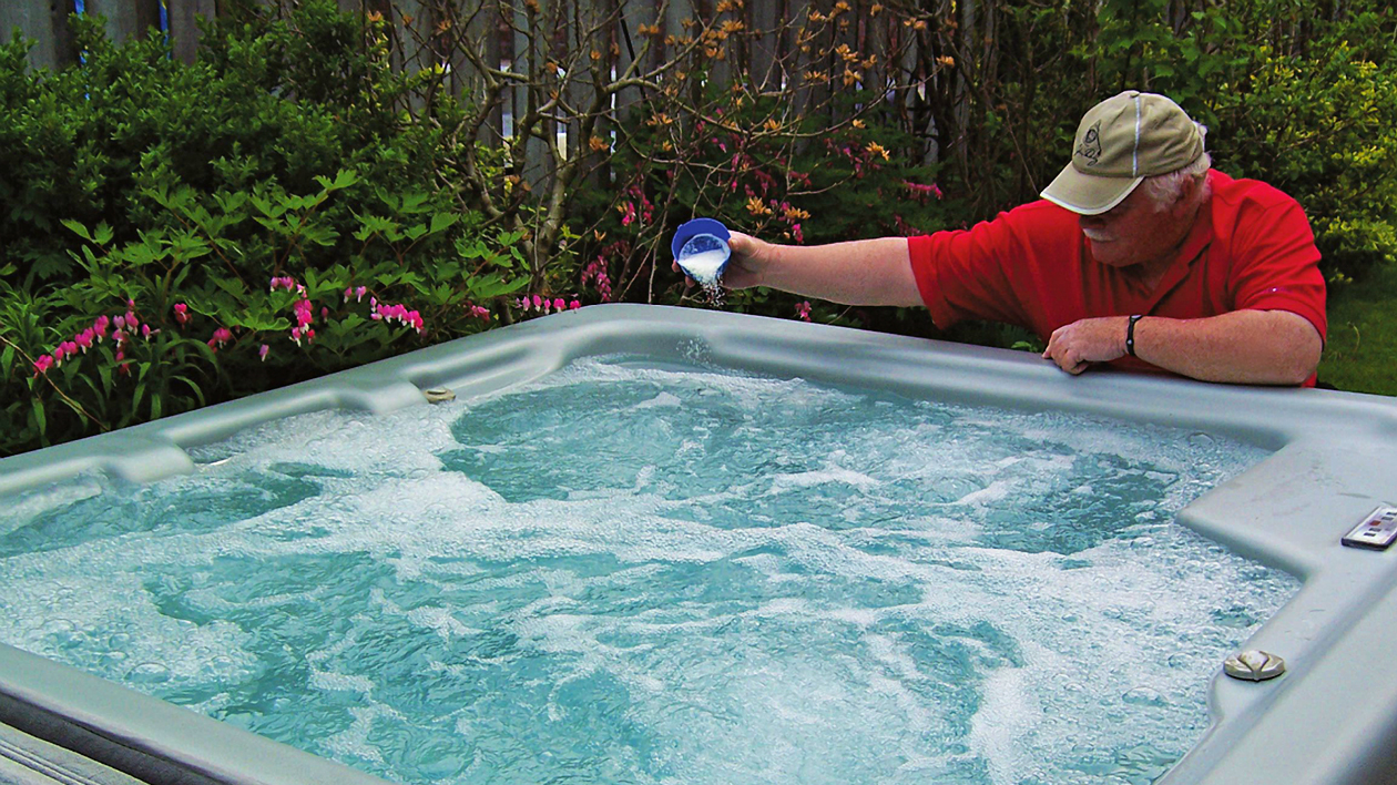 Bromine sanitation in hot tubs - Gecko in.YourSpa